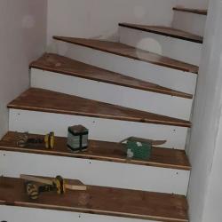 antalya ahşap merdiven kaplama