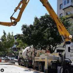 inşaaat beton dökme çalışmaları